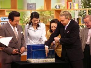 日本テレビ「ザ・ワイド」 「ガラ・ルファ」スタジオ体験